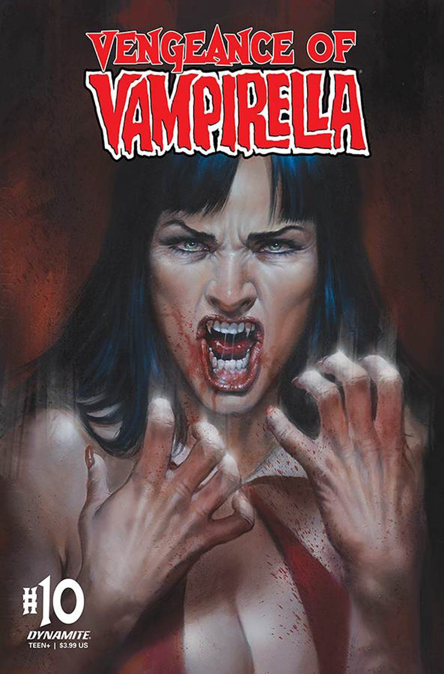 Vengeance Of Vampirella Vol 2 #10 Cover R Regular Lucio Parrillo Cover CGC Graded