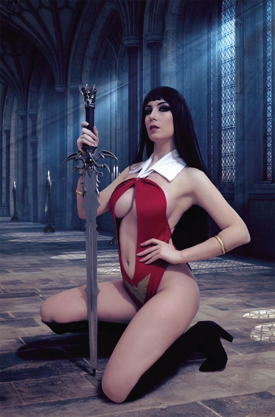 Vengeance Of Vampirella Vol 2 #10 Cover I Incentive Giulietta Zawadzki Cosplay Photo Virgin Cover
