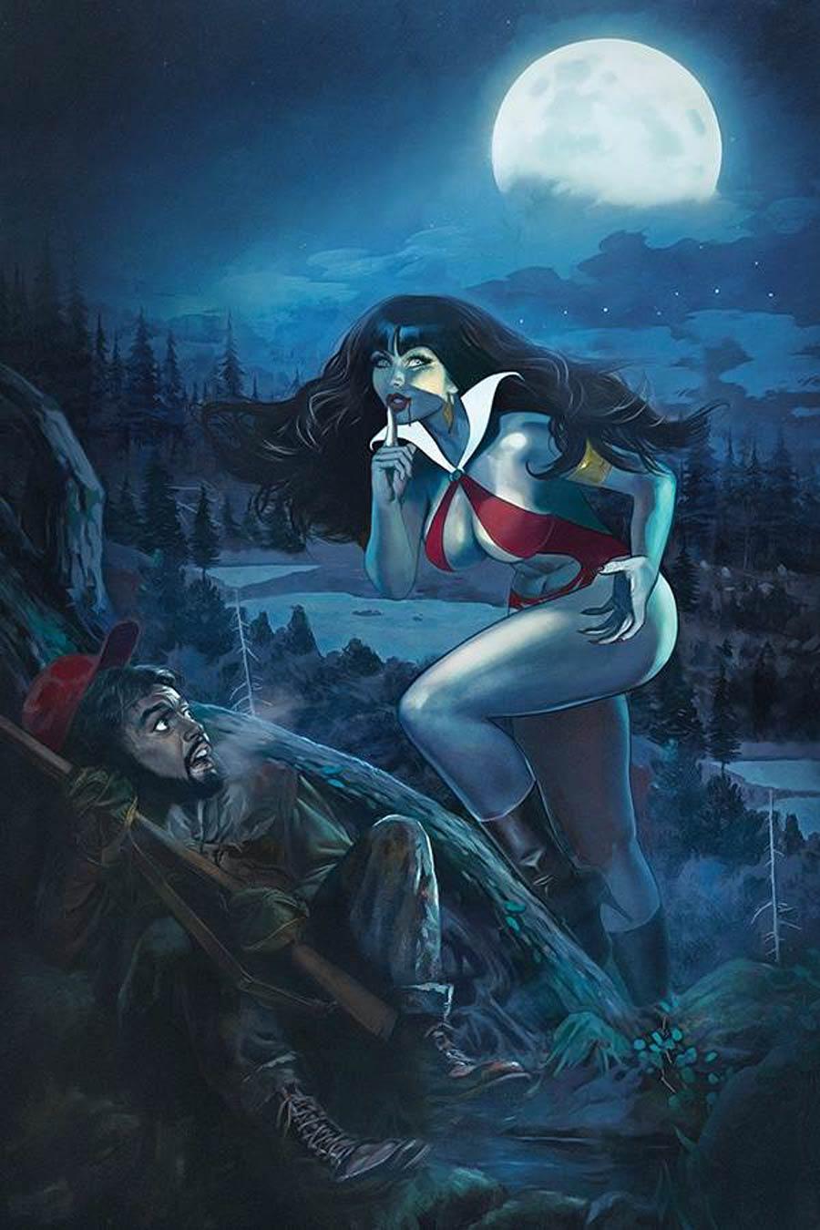 Vampirella Vol 8 #14 Cover X Limited Edition Fay Dalton Virgin Cover