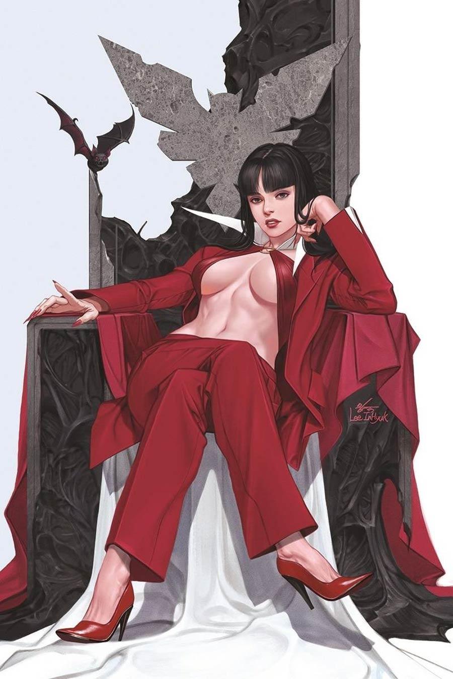 Vampirella Vol 8 #14 Cover Y Limited Edition Inhyuk Lee Virgin Cover