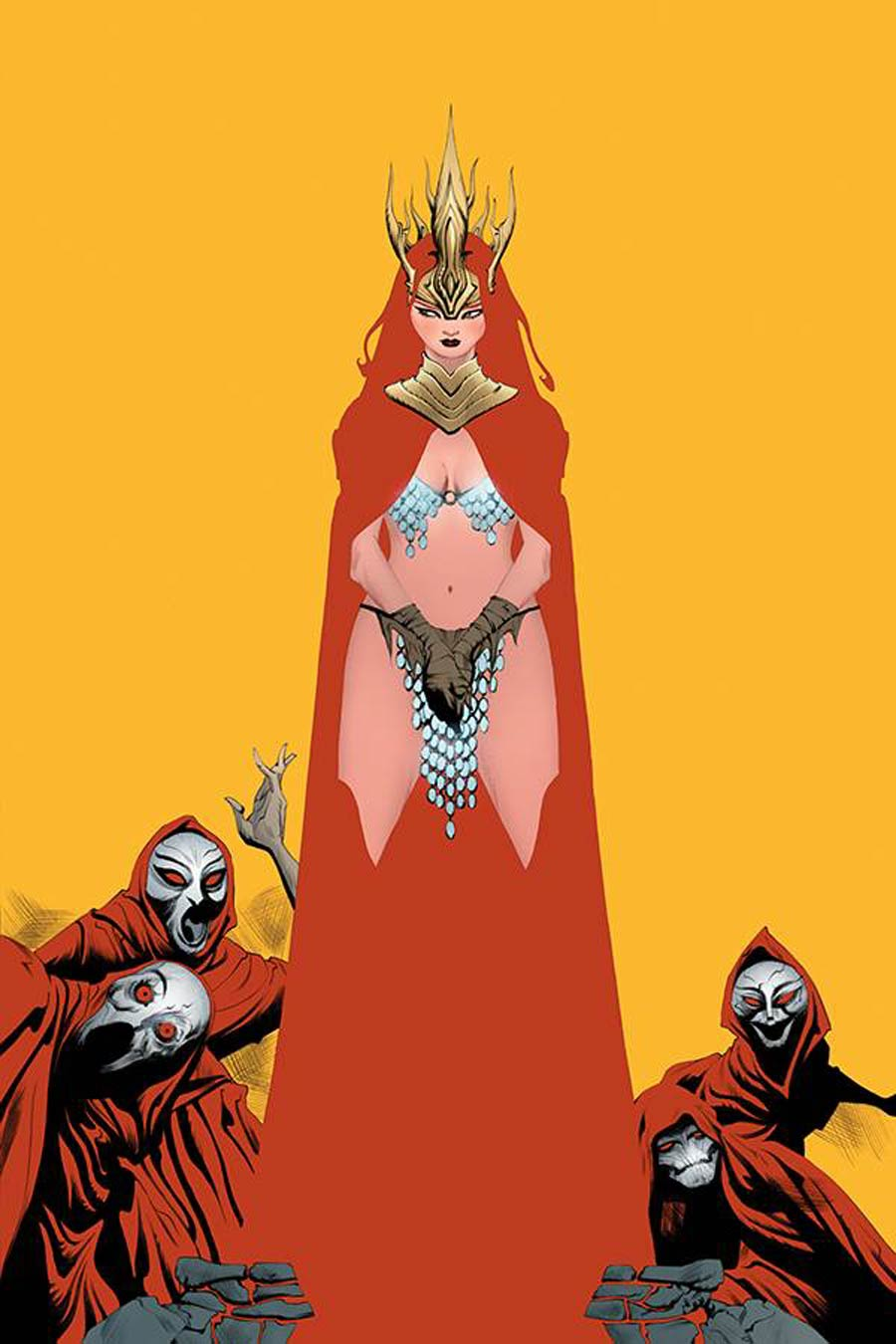 Red Sonja Vol 8 #19 Cover R Limited Edition Jae Lee Virgin Cover
