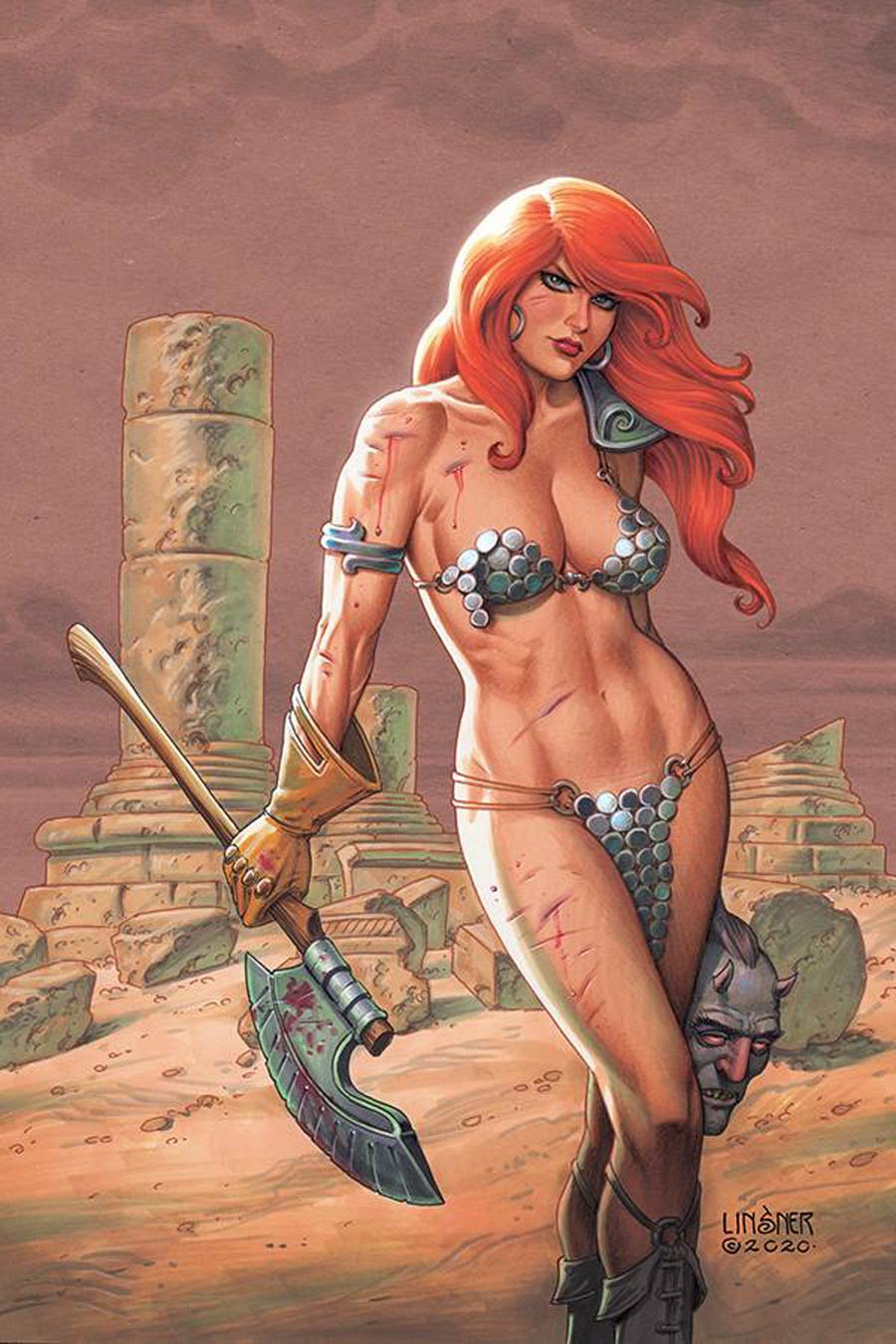 Red Sonja Vol 8 #19 Cover S Limited Edition Joseph Michael Linsner Virgin Cover
