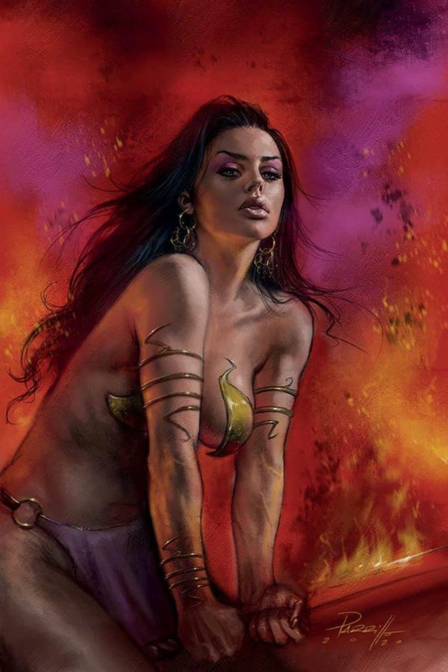 Dejah Thoris Vol 3 #8 Cover R Limited Edition Lucio Parrillo Virgin Cover