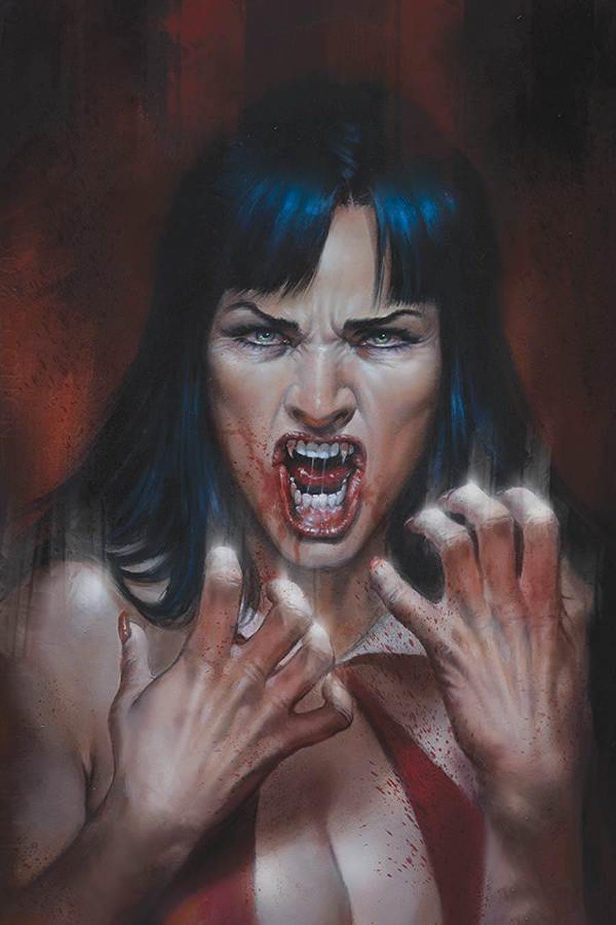 Vengeance Of Vampirella Vol 2 #10 Cover P Limited Edition Lucio Parrillo Virgin Cover