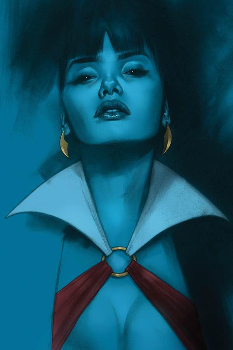 Vengeance Of Vampirella Vol 2 #10 Cover Q Limited Edition Ben Oliver Virgin Cover