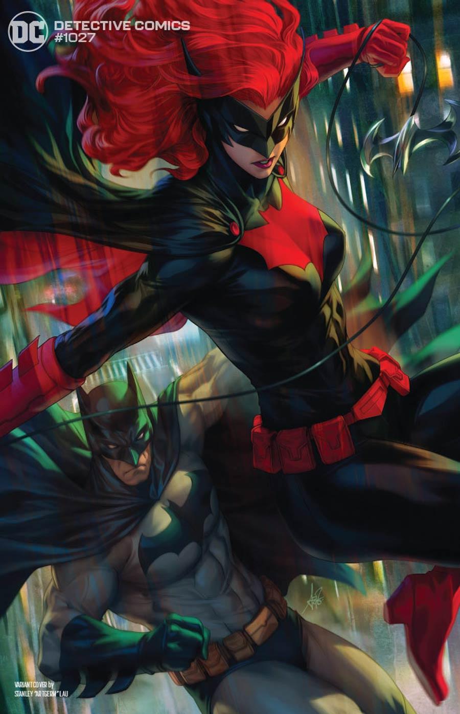 Detective Comics Vol 2 #1027 Cover D Variant Stanley Artgerm Lau Batman & Batwoman Cover