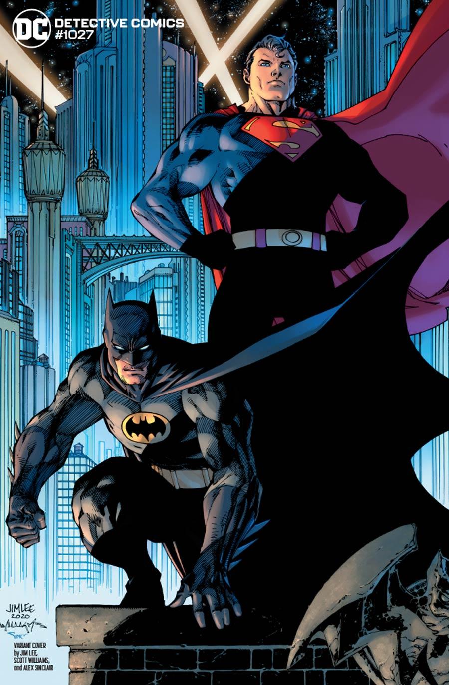 Detective Comics Vol 2 #1027 Cover F Variant Jim Lee & Scott Williams Batman & Superman Cover