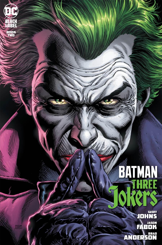Batman Three Jokers #2 Cover A Regular Jason Fabok Joker Cover