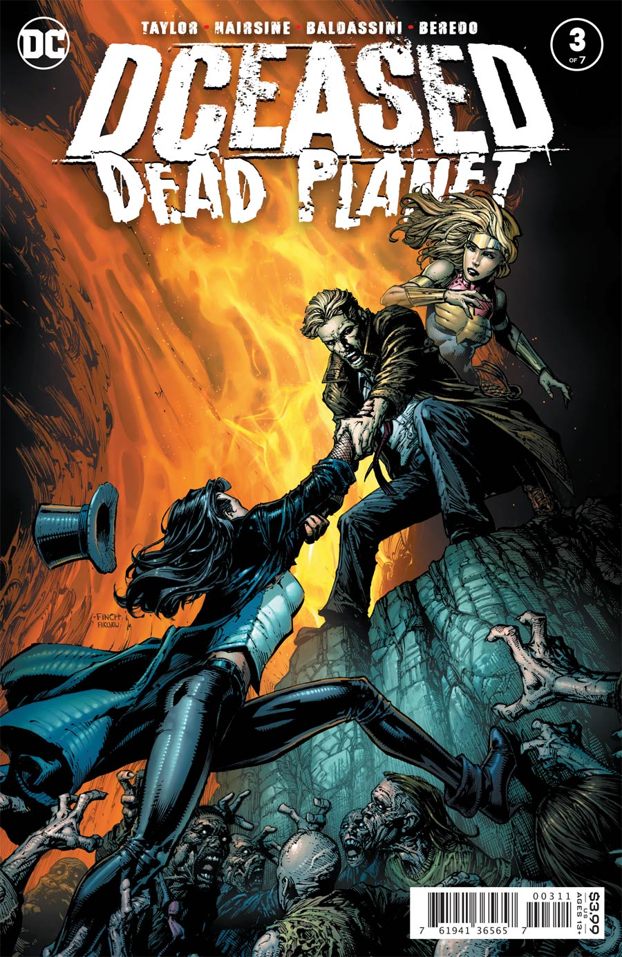 DCeased Dead Planet #3 Cover A Regular David Finch Cover