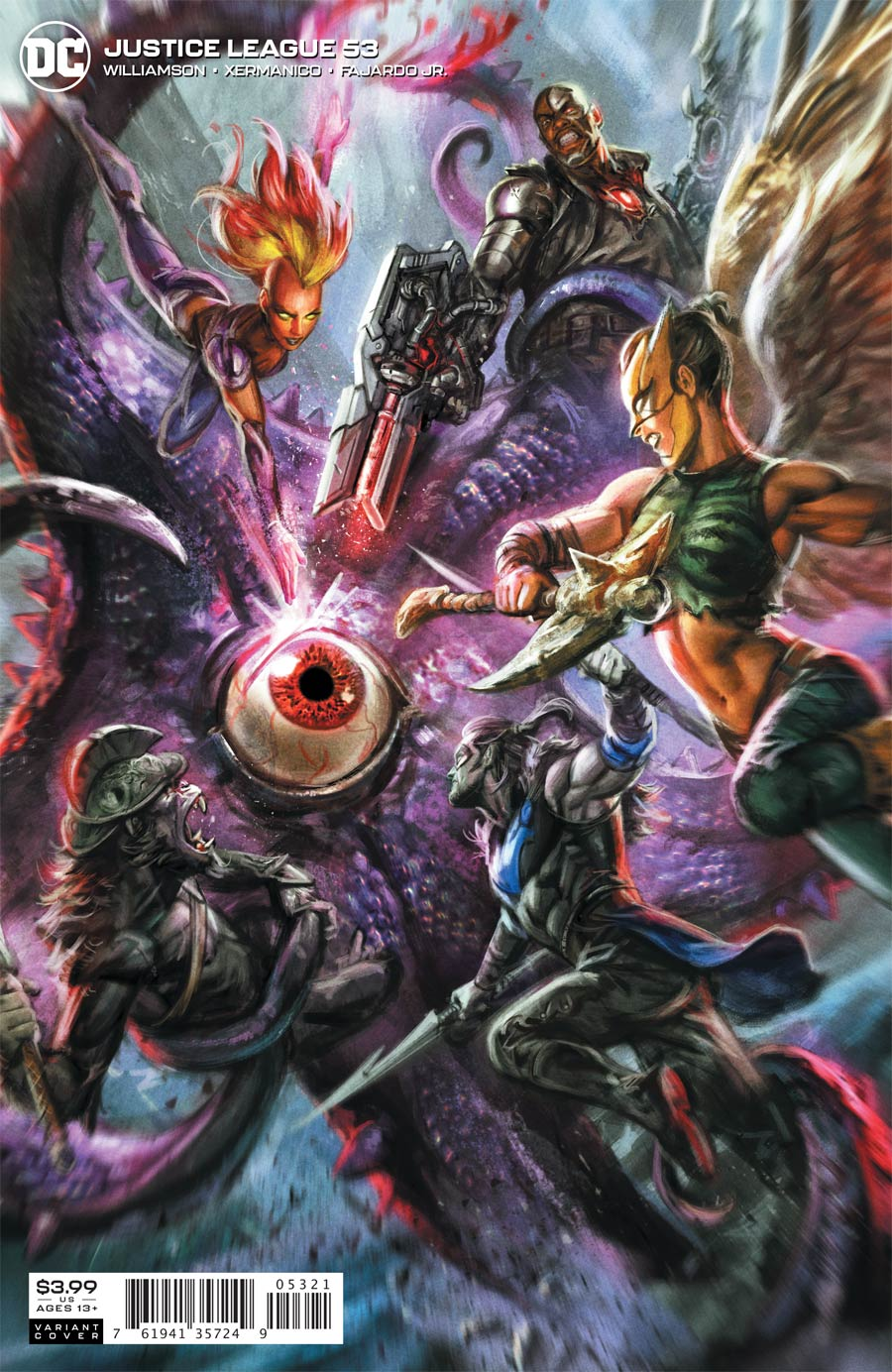 Justice League Vol 4 #53 Cover B Variant Ian MacDonald Cover (Dark Nights Death Metal Tie-In)