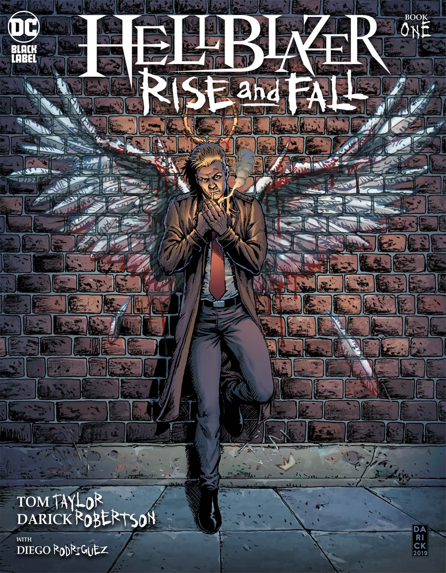 Hellblazer Rise And Fall #1 Cover A Regular Darick Robertson Cover