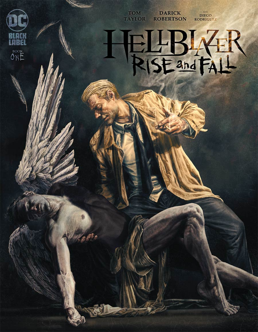 Hellblazer Rise And Fall #1 Cover B Variant Lee Bermejo Cover