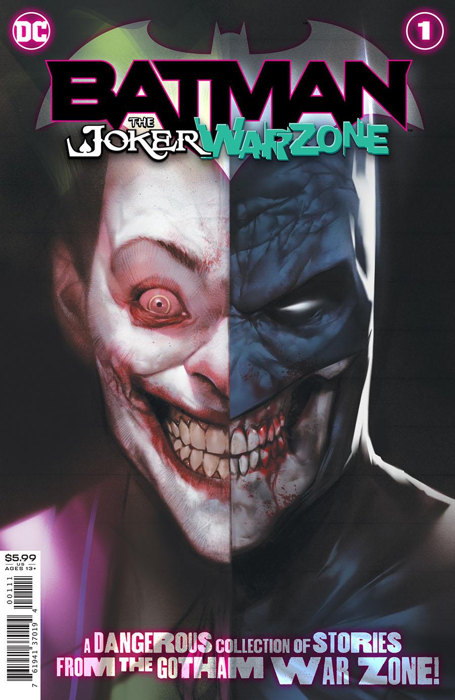 Batman The Joker War Zone One Shot Cover A Regular Ben Oliver Cover (Joker War Tie-In)