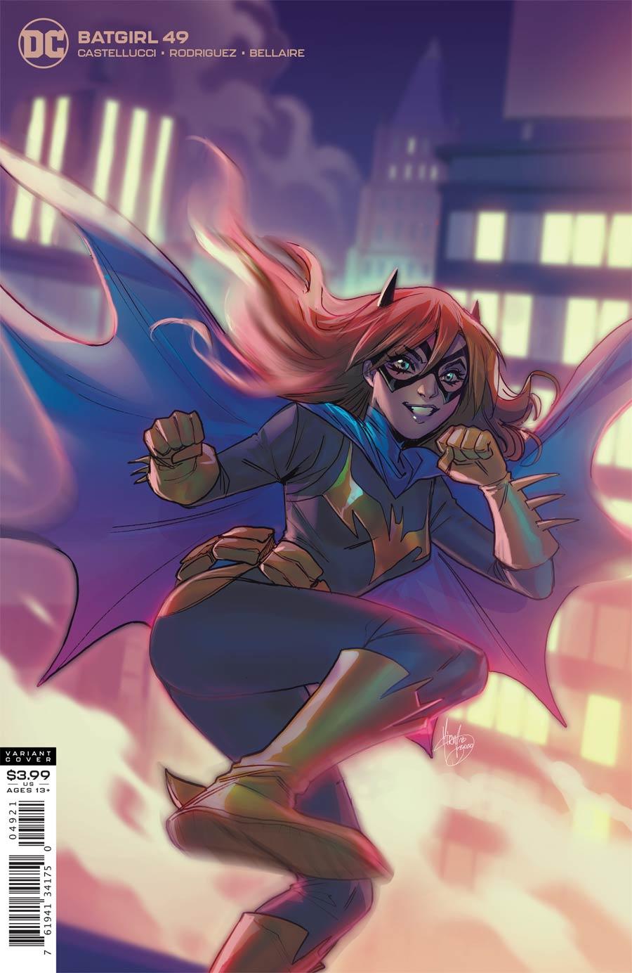 Batgirl Vol 5 #49 Cover B Variant Mirka Andolfo Cover (Joker War Tie-In)
