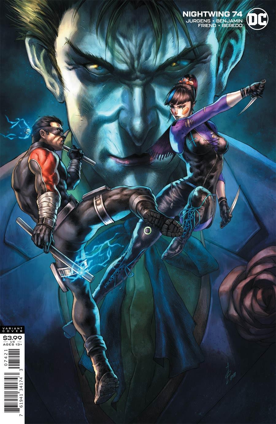 Nightwing Vol 4 #74 Cover B Variant Alan Quah Cover (Joker War Tie-In)