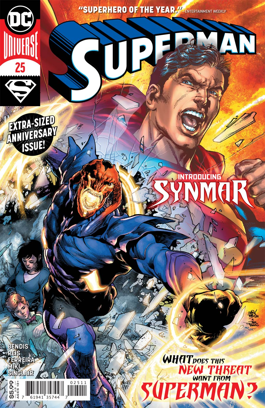 Superman Vol 6 #25 Cover A Regular Ivan Reis & Joe Prado Cover