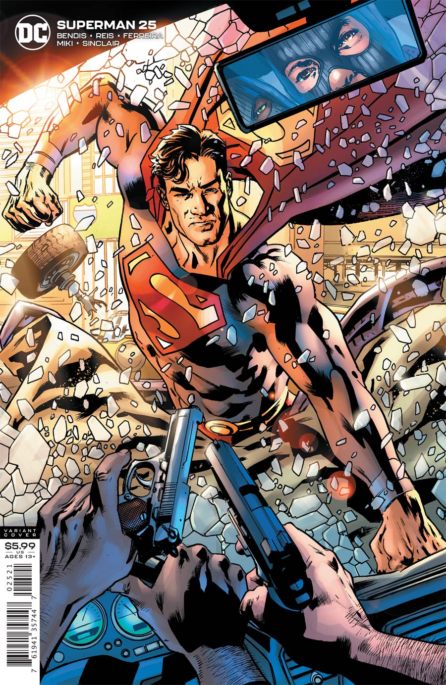 Superman Vol 6 #25 Cover B Variant Bryan Hitch Cover