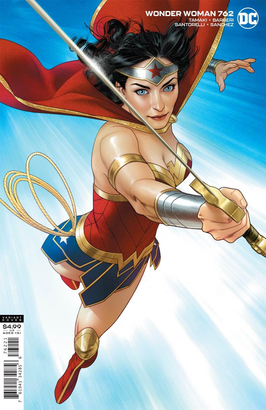 Wonder Woman Vol 5 #762 Cover B Variant Joshua Middleton Card Stock Cover