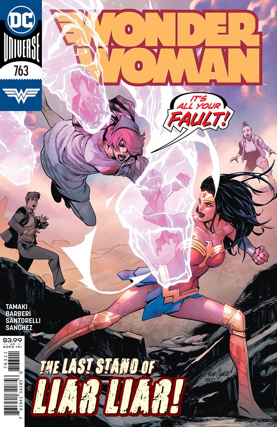 Wonder Woman Vol 5 #763 Cover A Regular David Marquez Cover