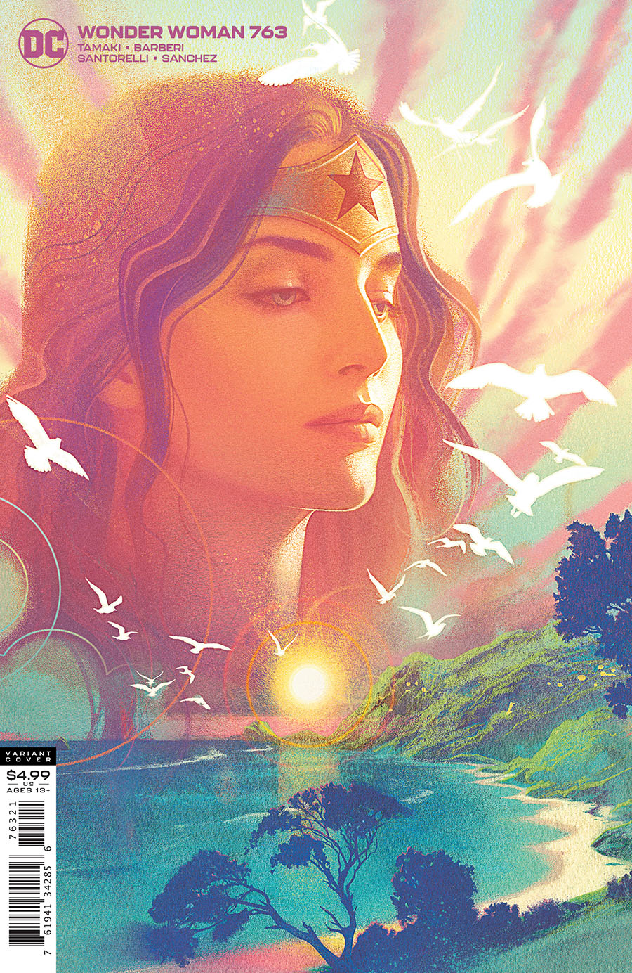 Wonder Woman Vol 5 #763 Cover B Variant Joshua Middleton Card Stock Cover
