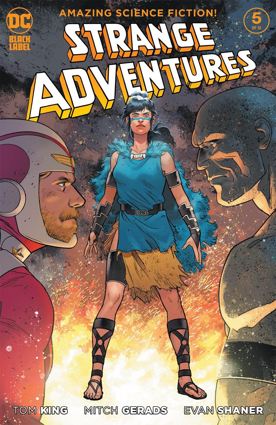 Strange Adventures Vol 4 #5 Cover B Variant Evan Doc Shaner Cover