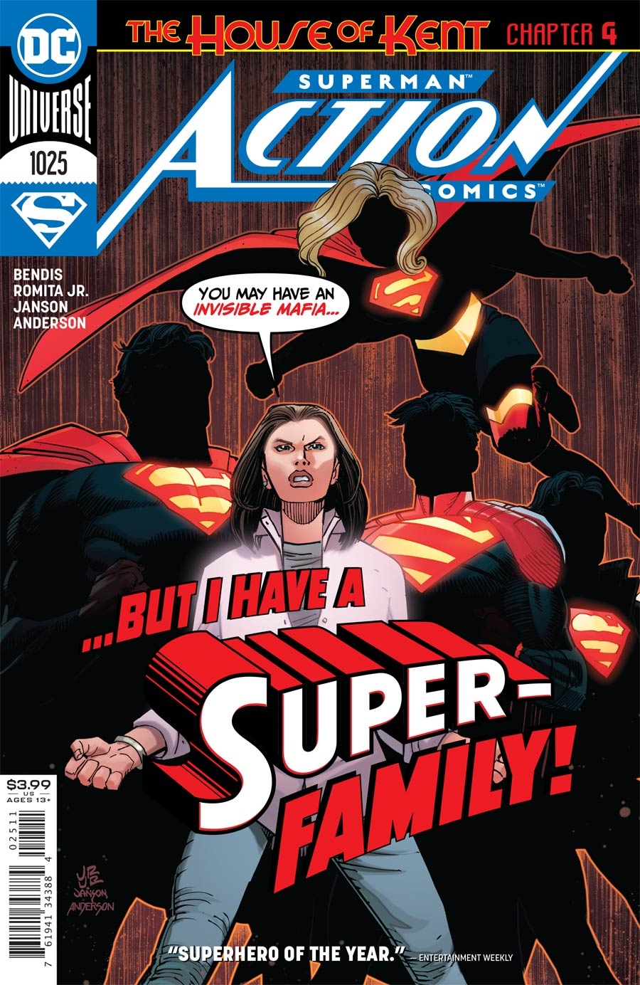 Action Comics Vol 2 #1025 Cover A Regular John Romita Jr & Klaus Janson Cover