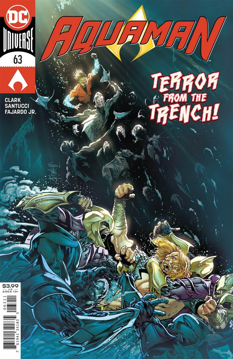 Aquaman Vol 6 #63 Cover A Regular Robson Rocha Cover