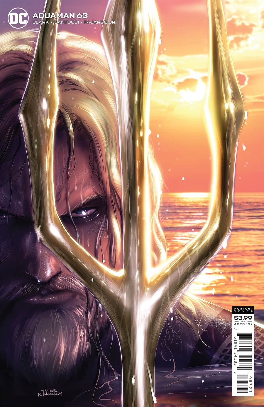 Aquaman Vol 6 #63 Cover B Variant Tyler Kirkham Cover