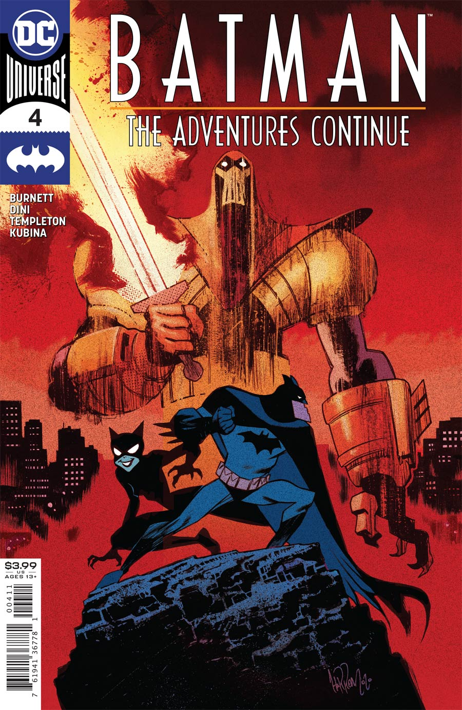 Batman The Adventures Continue #4 Cover A Regular James Harren Cover