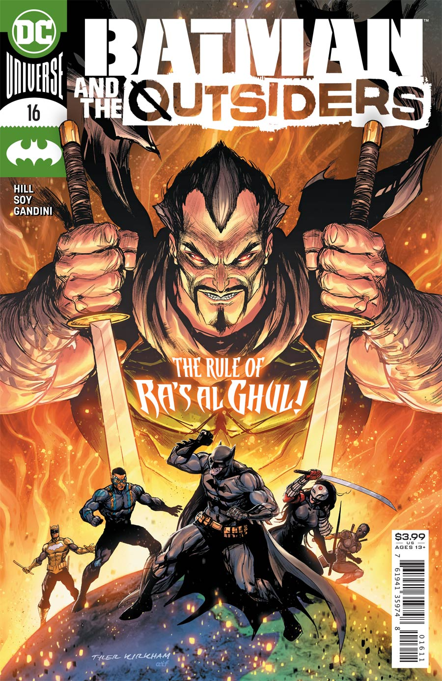 Batman And The Outsiders Vol 3 #16 Cover A Regular Tyler Kirkham Cover