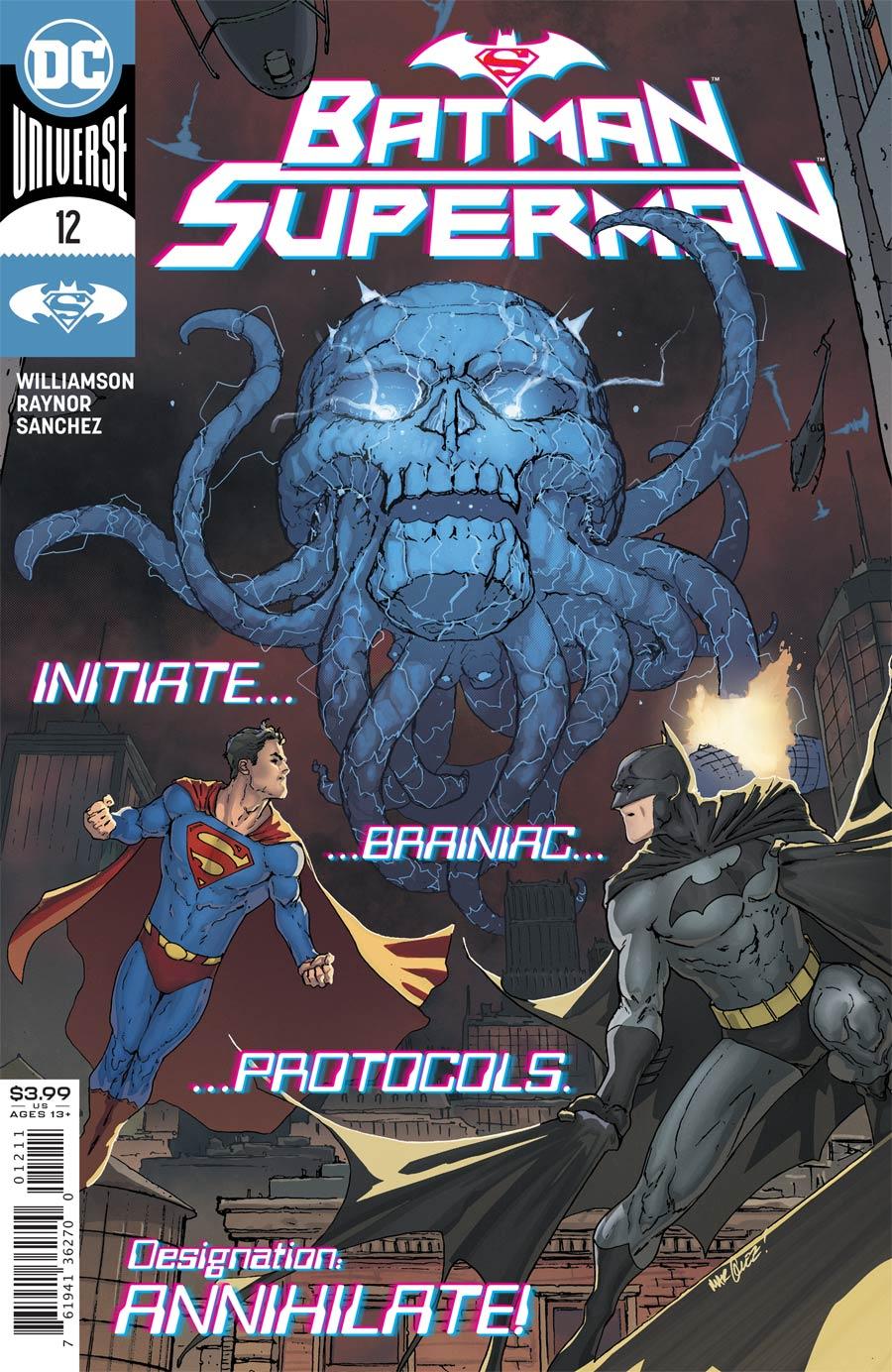 Batman Superman Vol 2 #12 Cover A Regular David Marquez Cover