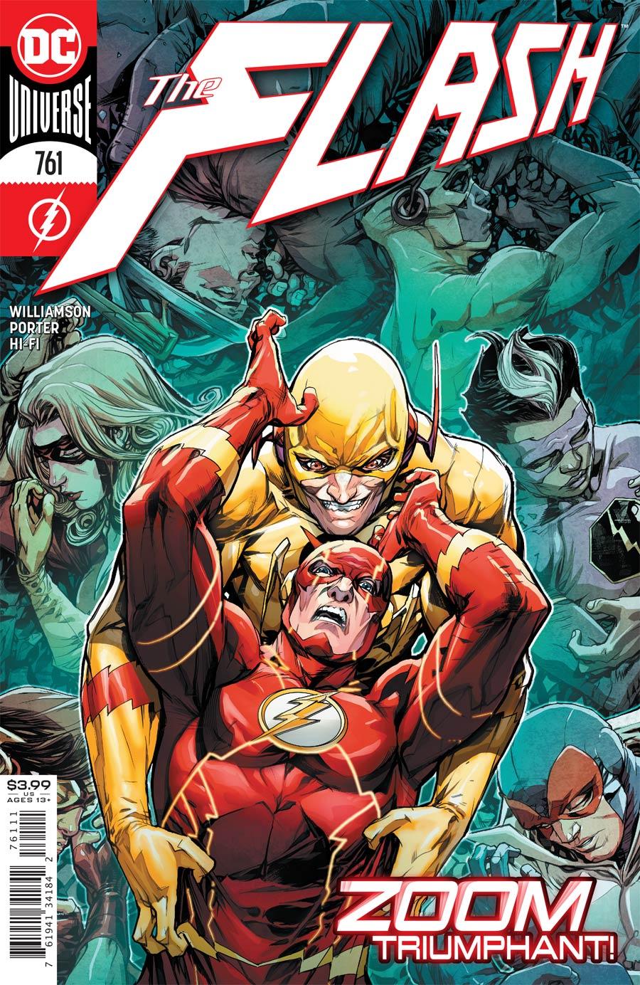 Flash Vol 5 #761 Cover A Regular Howard Porter Cover