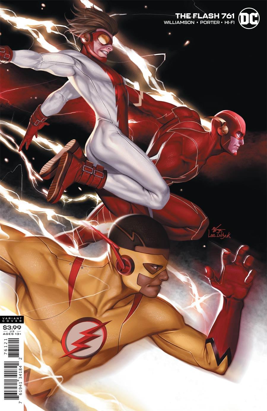 Flash Vol 5 #761 Cover B Variant Inhyuk Lee Cover