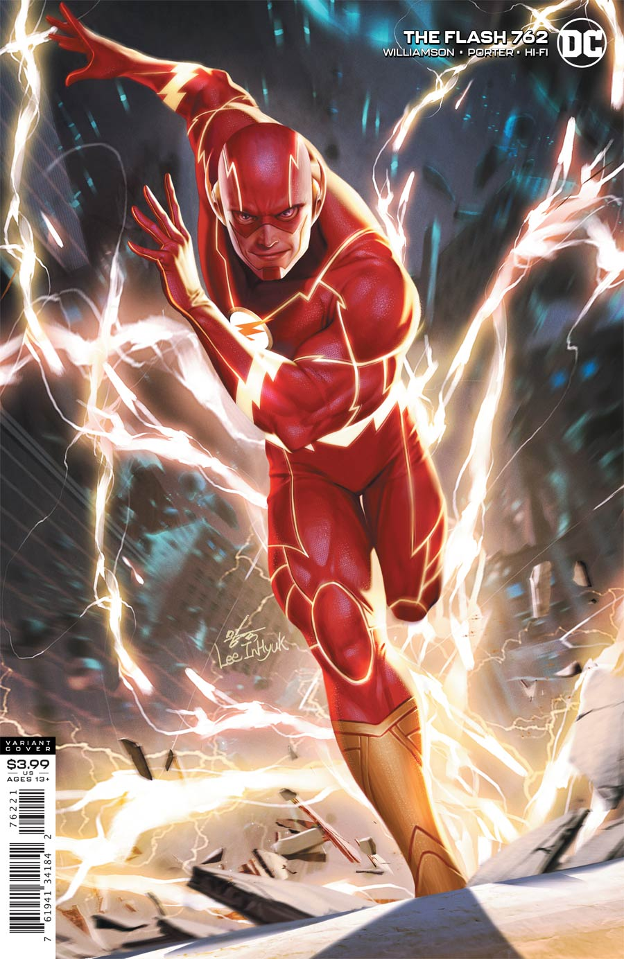 Flash Vol 5 #762 Cover B Variant Inhyuk Lee Cover