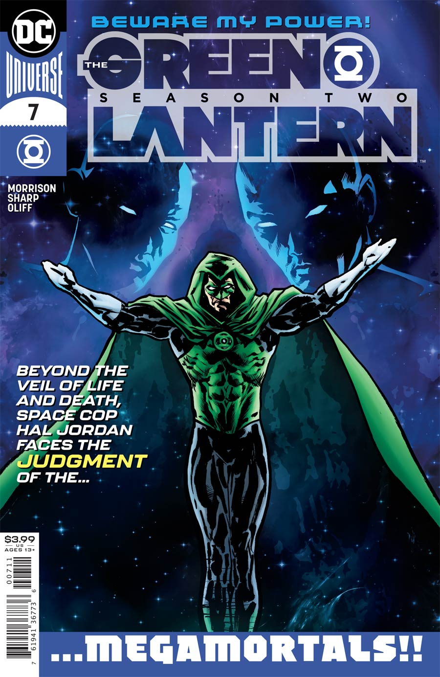 Green Lantern Vol 6 Season 2 #7 Cover A Regular Liam Sharp Cover