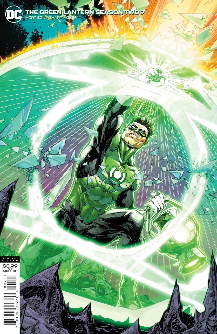 Green Lantern Vol 6 Season 2 #7 Cover B Variant Howard Porter Cover