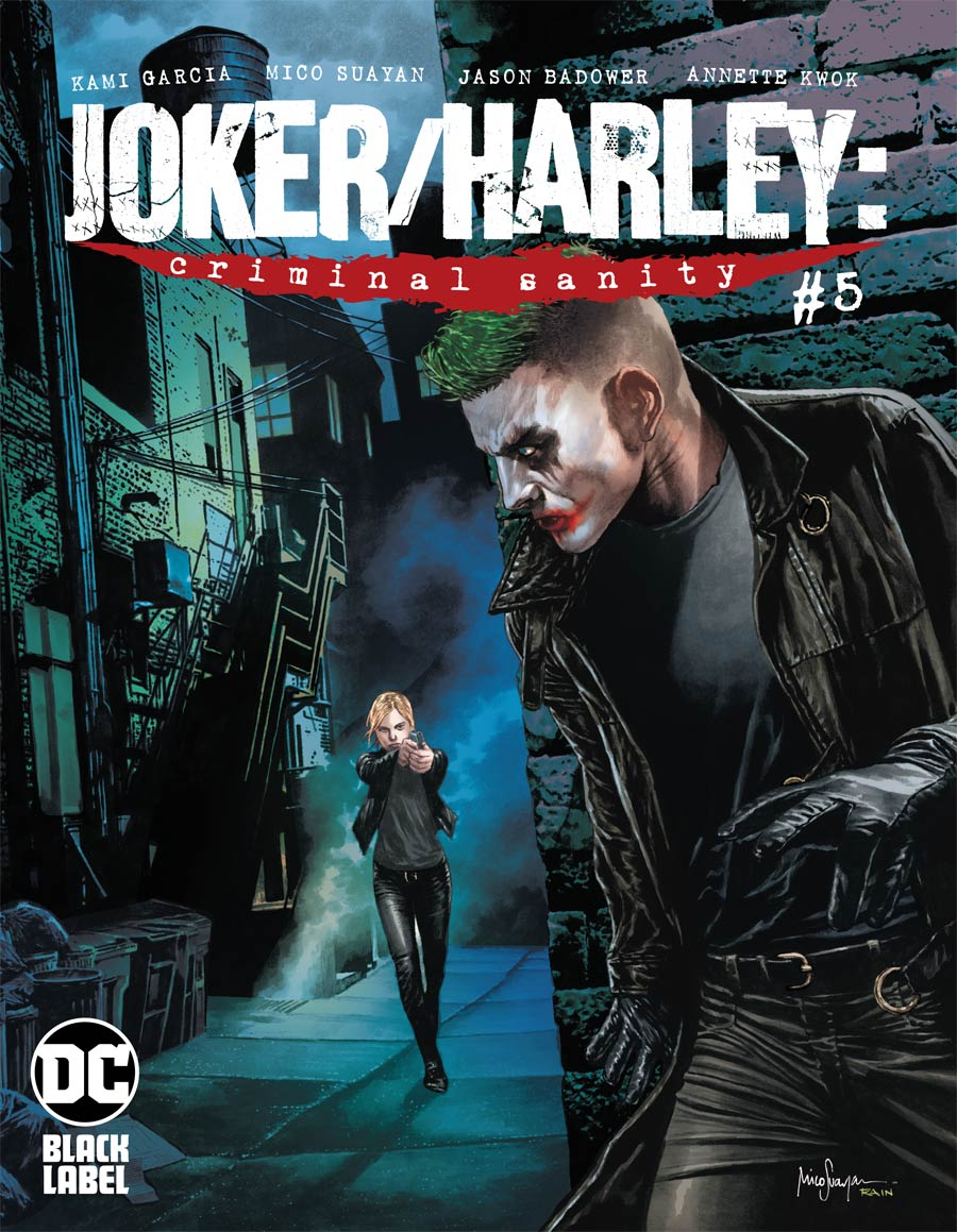 Joker Harley Criminal Sanity #5 Cover B Variant Mico Suayan Cover