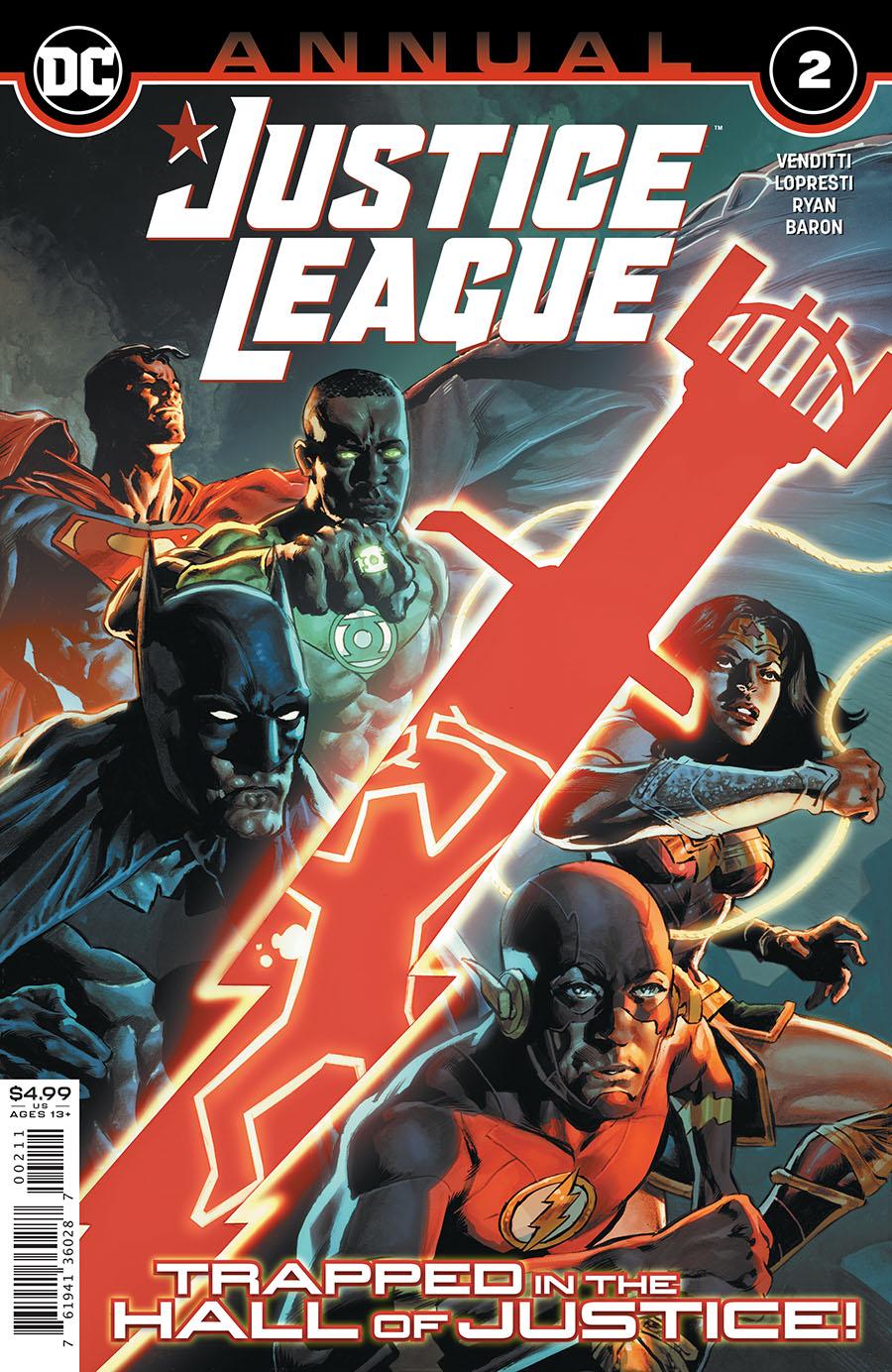Justice League Vol 4 Annual #2