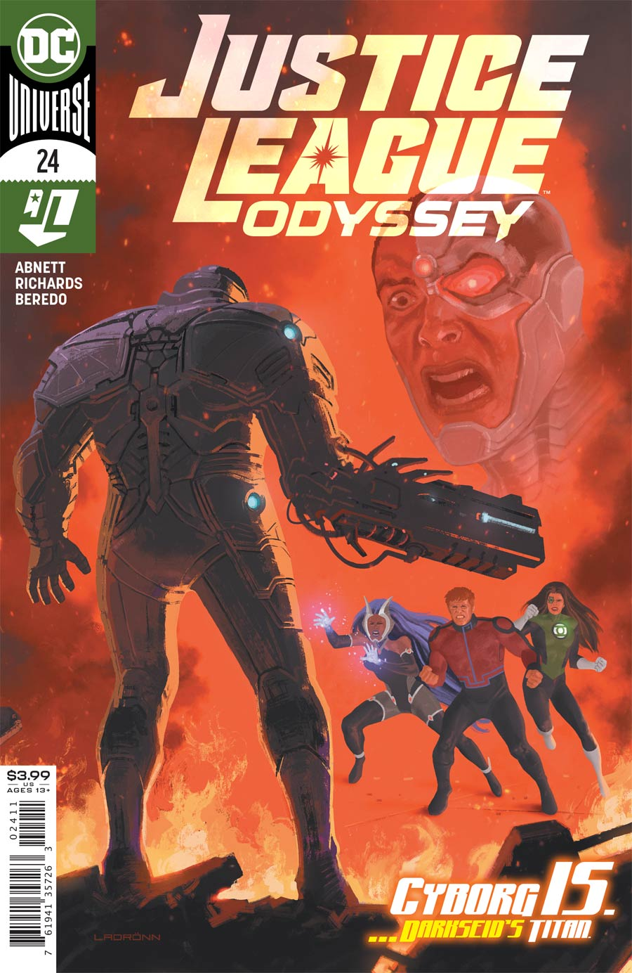 Justice League Odyssey #24 Cover A Regular Jose Ladronn Cover