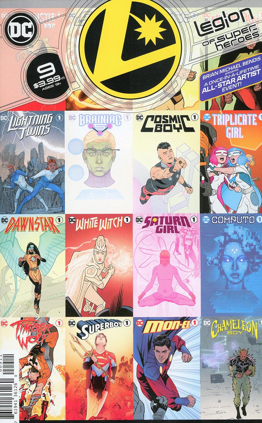 Legion Of Super-Heroes Vol 8 #9 Cover A Regular Ryan Sook Cover