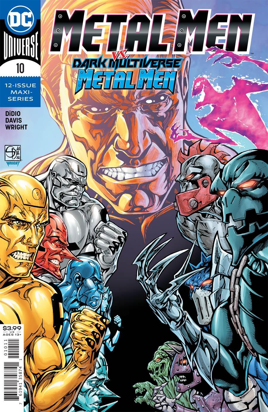 Metal Men Vol 4 #10 Cover A Regular Shane Davis Cover