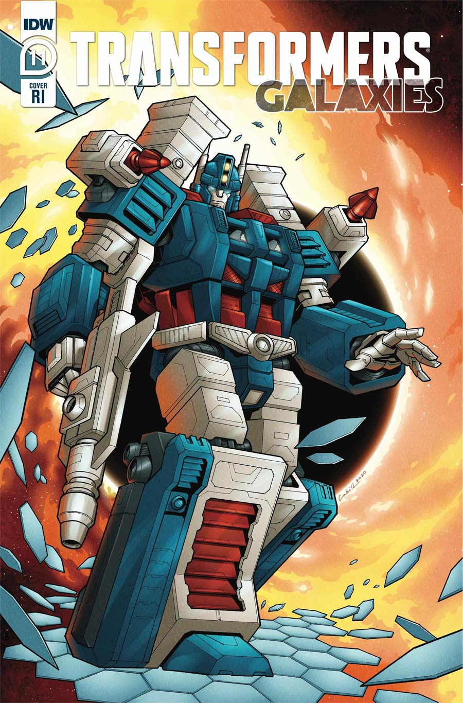 Transformers Galaxies #11 Cover C Incentive Brendan Cahill Variant Cover
