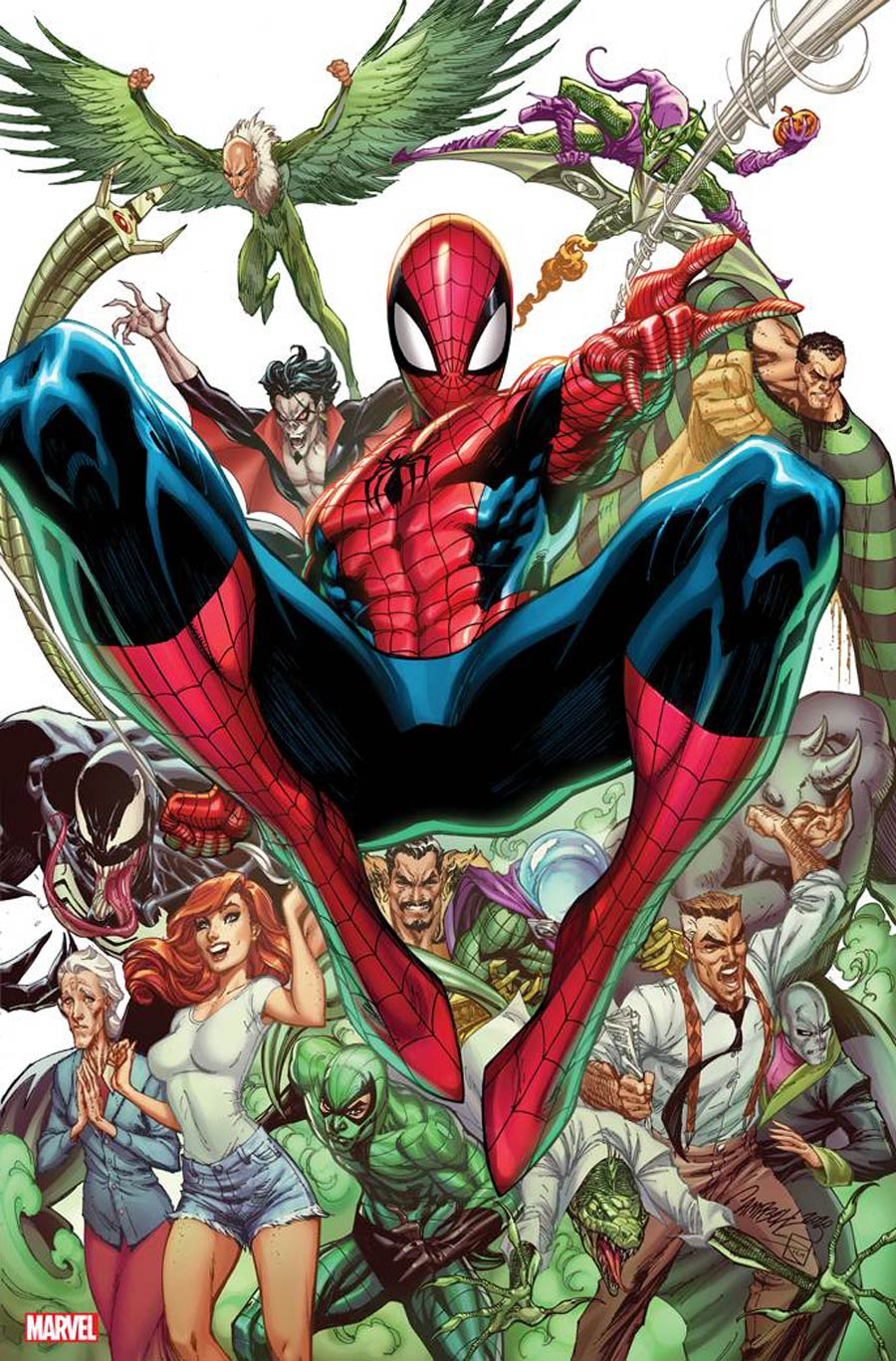 Amazing Spider-Man Vol 5 #49 Cover R Incentive J Scott Campbell Virgin Cover (#850)