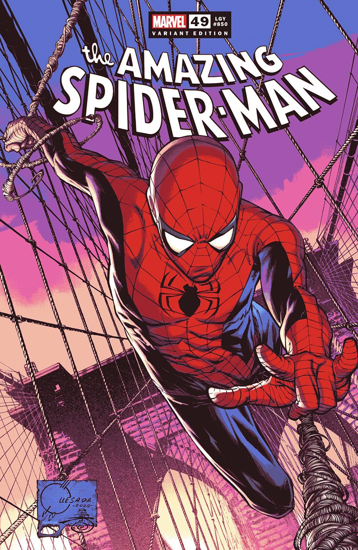 Amazing Spider-Man Vol 5 #850 Cover O Incentive Joe Quesada Variant Cover (#49)