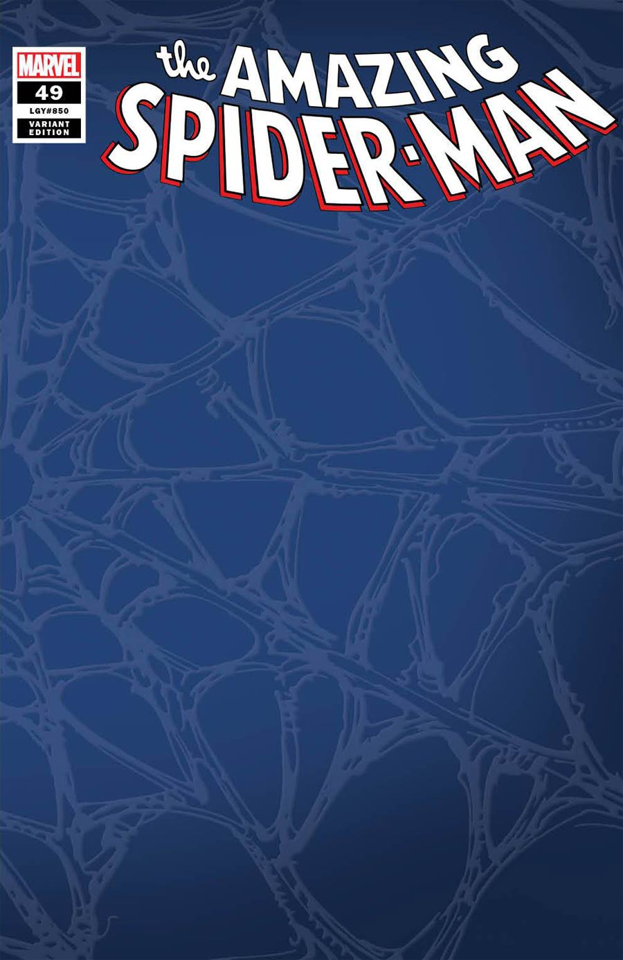 Amazing Spider-Man Vol 5 #49 Cover Q Incentive Web Variant Cover (#850)