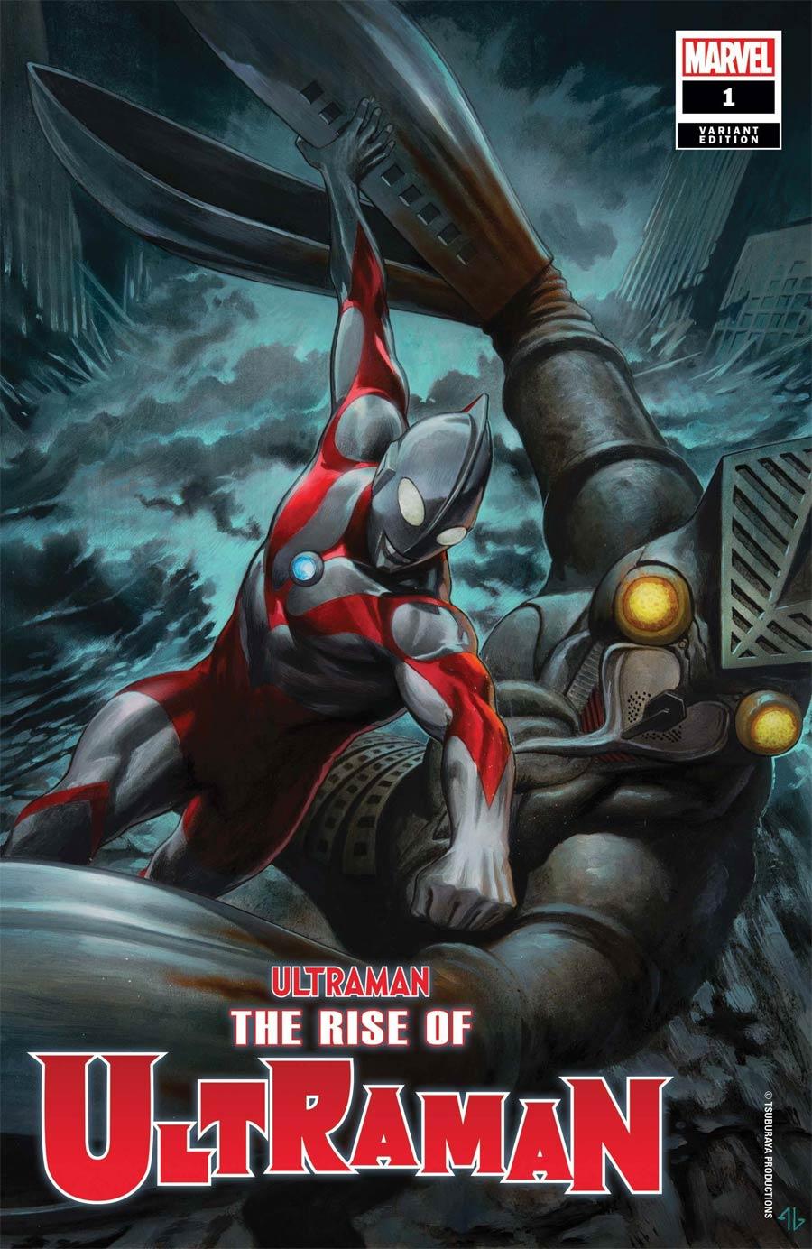 Ultraman Rise Of Ultraman #1 Cover I Incentive Adi Granov Variant Cover