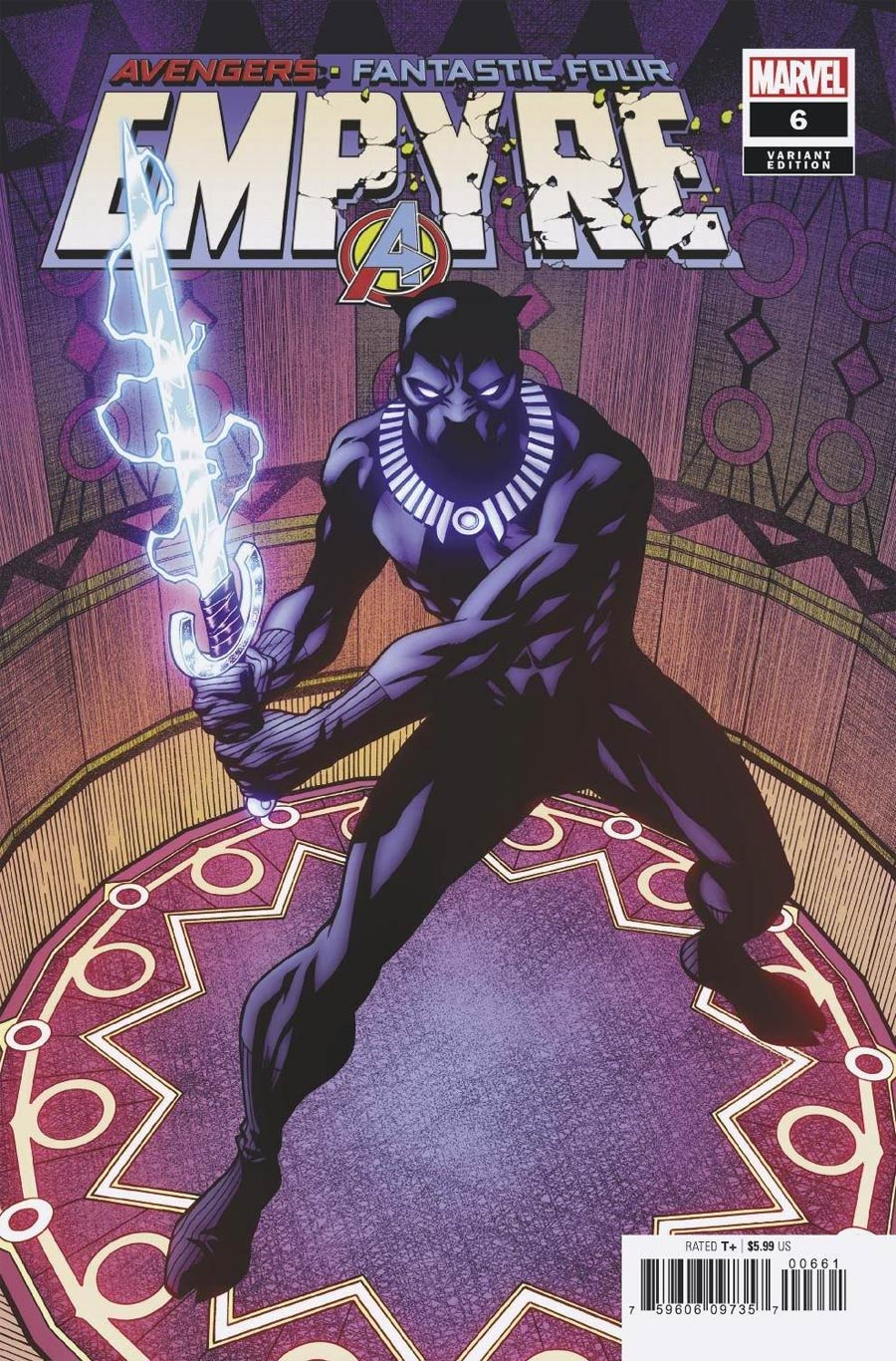 Empyre #6 Cover F Incentive Mike McKone Variant Cover
