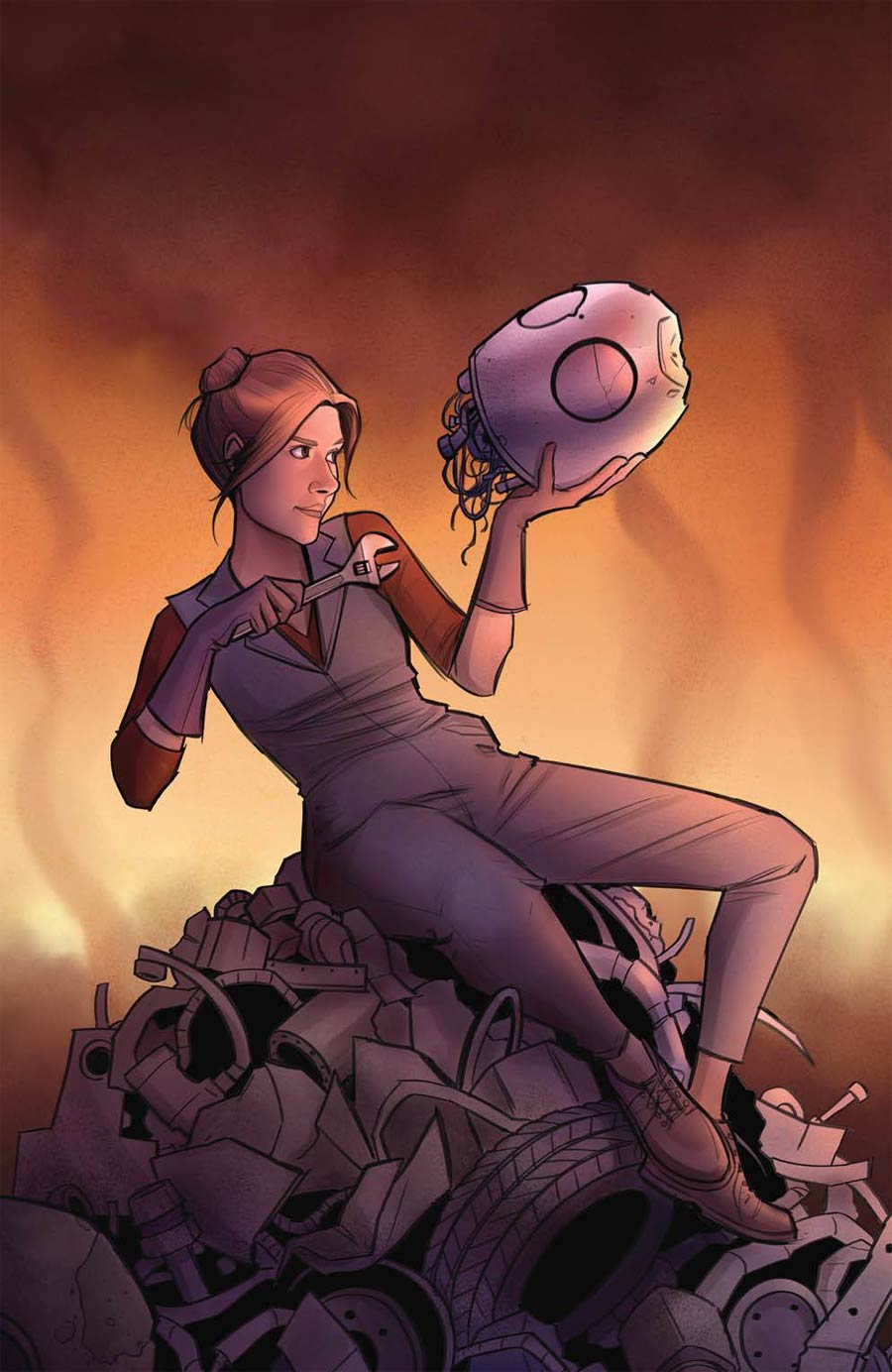 Firefly Blue Sun Rising Alpha #0 Cover C Incentive Caitlin Yarsky Variant Cover
