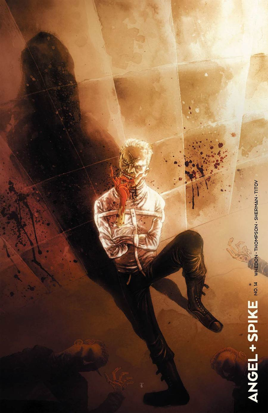 Angel & Spike #14 Cover D Incentive Ben Templesmith Variant Cover