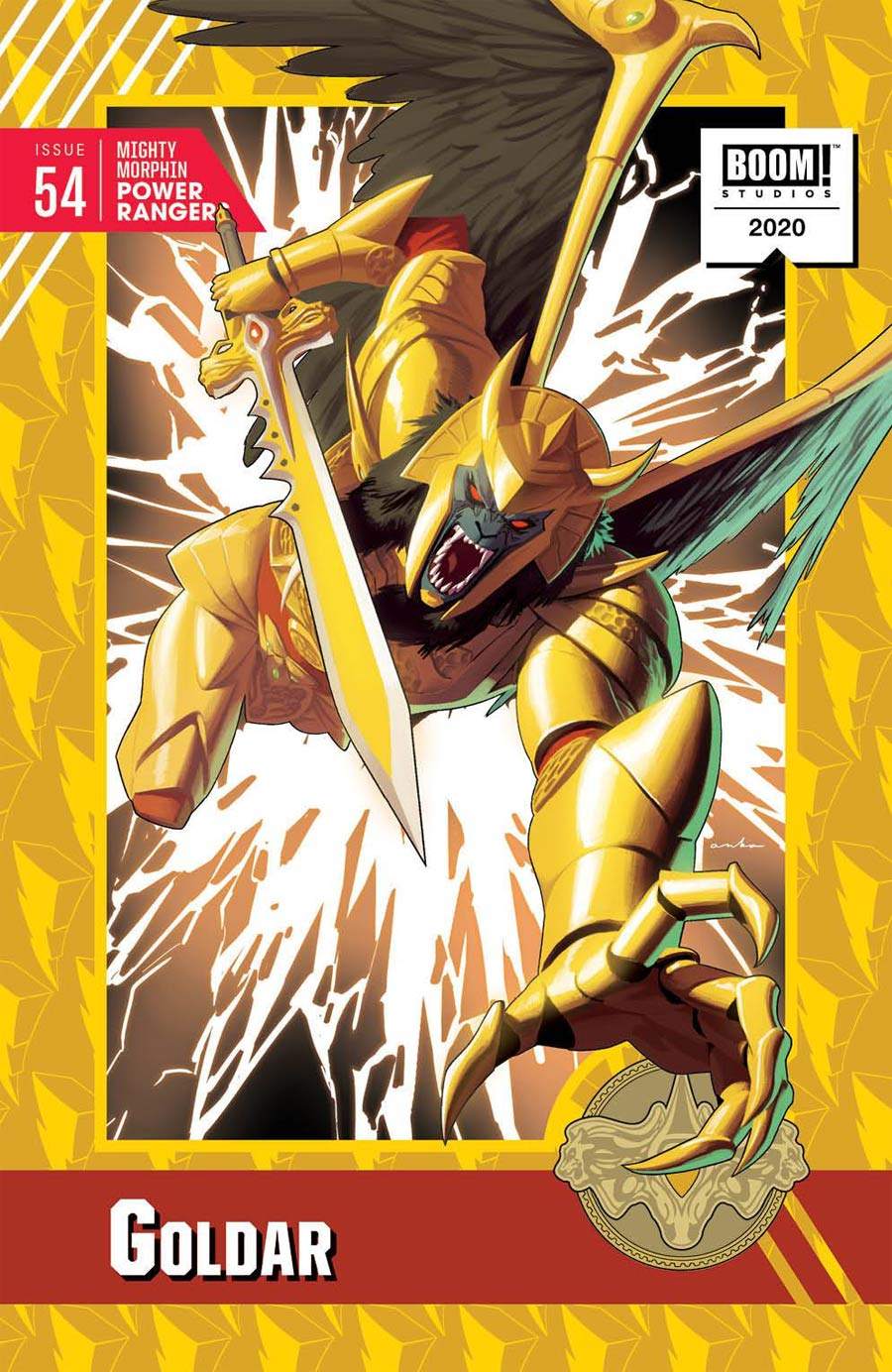 Mighty Morphin Power Rangers (BOOM Studios) #54 Cover C Incentive Kris Anka Variant Cover